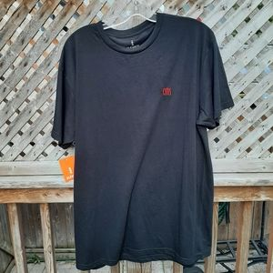 Black tshirt new with tags size large